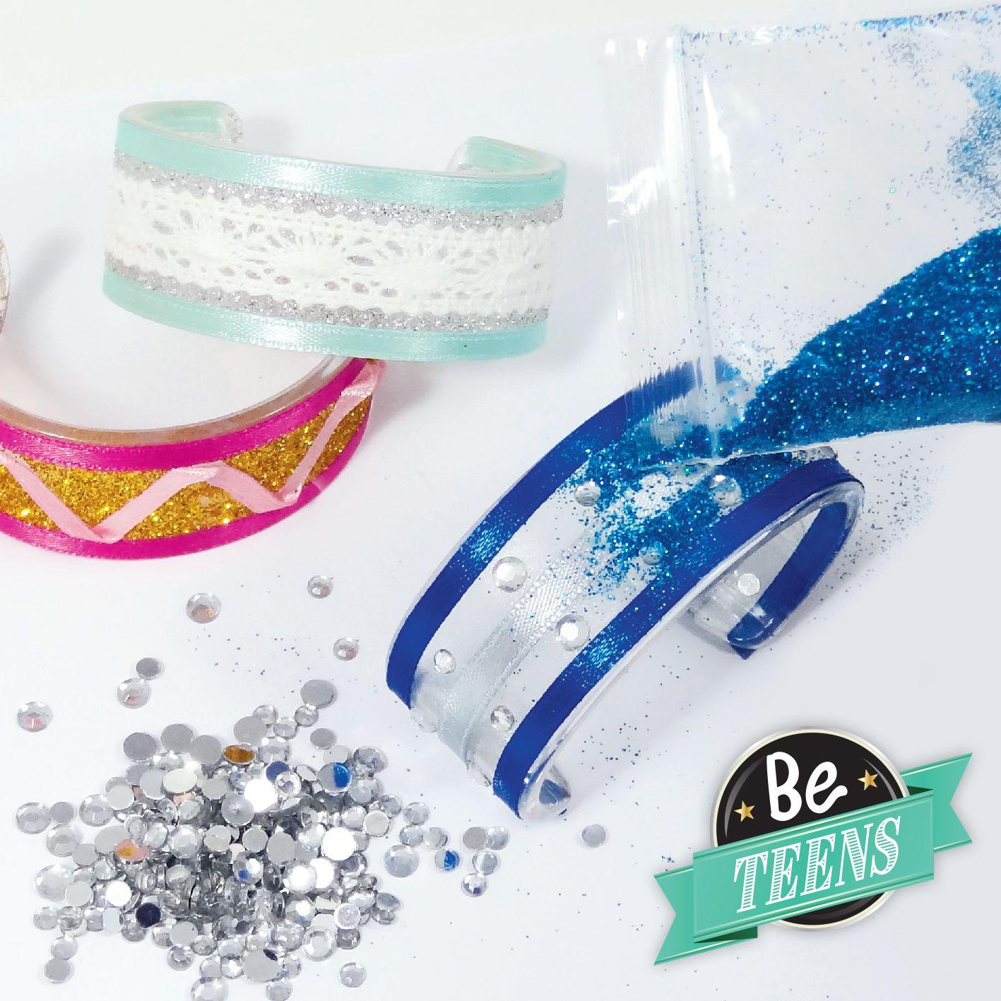 Творчески комплект Buki Be Teens - Направи си сам лъскави гривни - 5