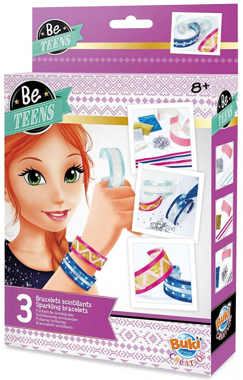 Творчески комплект Buki Be Teens - Направи си сам лъскави гривни - 1