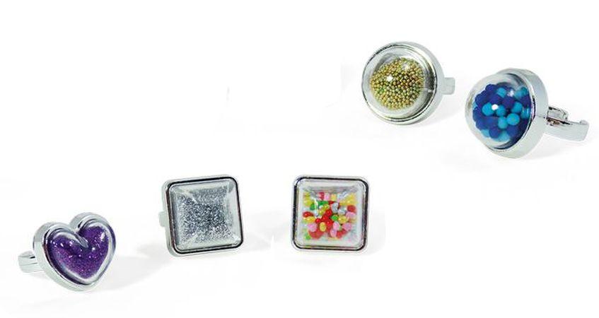 Творчески комплект Buki Be Teens - Направи си сам пръстени с мехурчета - 3