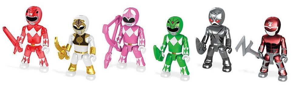 Фигурка-изненада Mega Construx Power Ranger - Серия 1 - 2