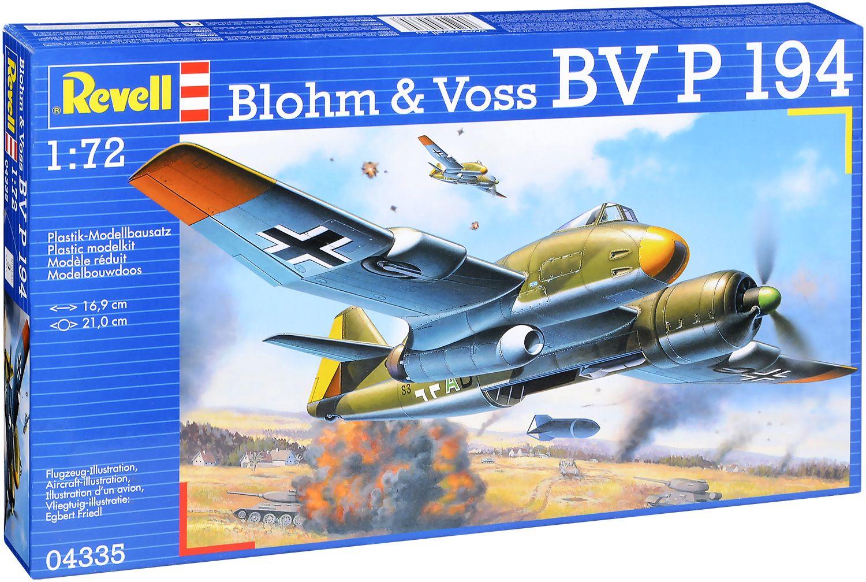 Сглобяем модел Revell - Военен самолет Blohm & Voss P. 194 (04335) - 1