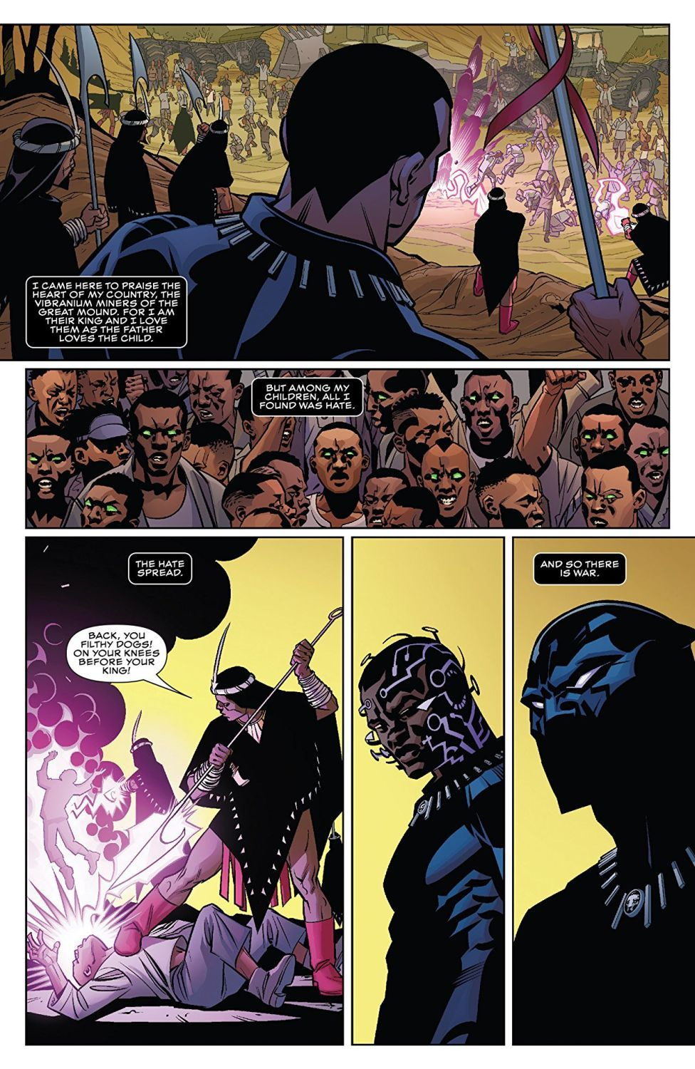 Black Panther A Nation Under Our Feet Book 1 (комикс) - 4