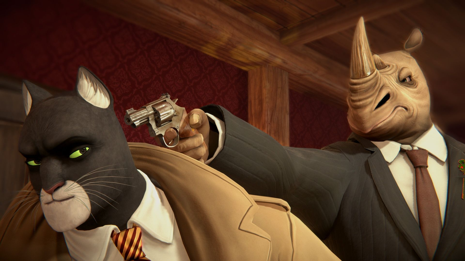 Blacksad: Under the Skin (PS4) - 4