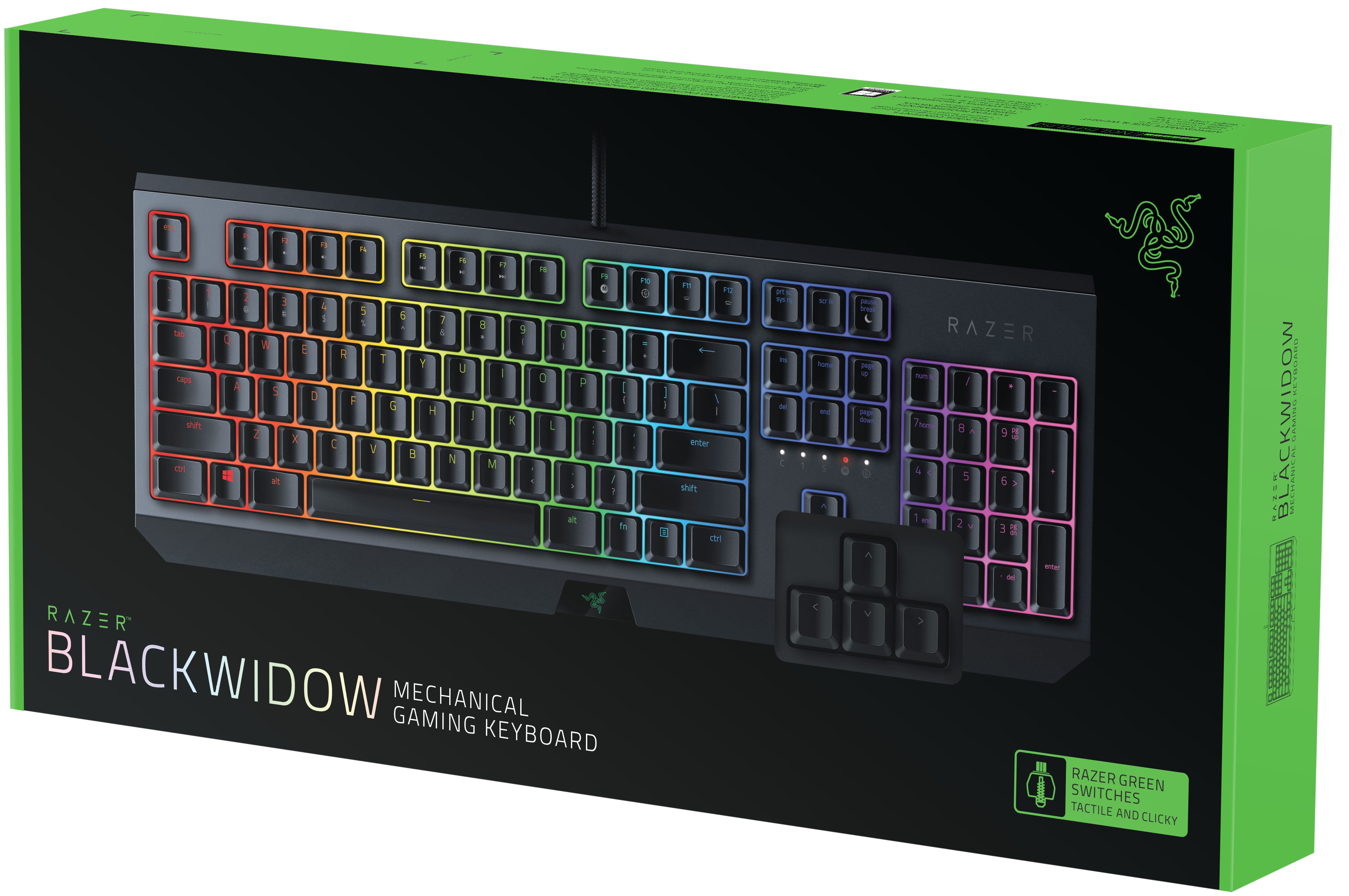 Механична клавиатура Razer BlackWidow - 5