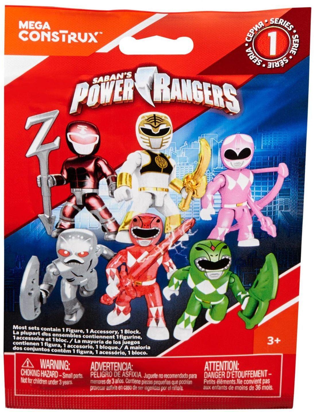 Фигурка-изненада Mega Construx Power Ranger - Серия 1 - 1
