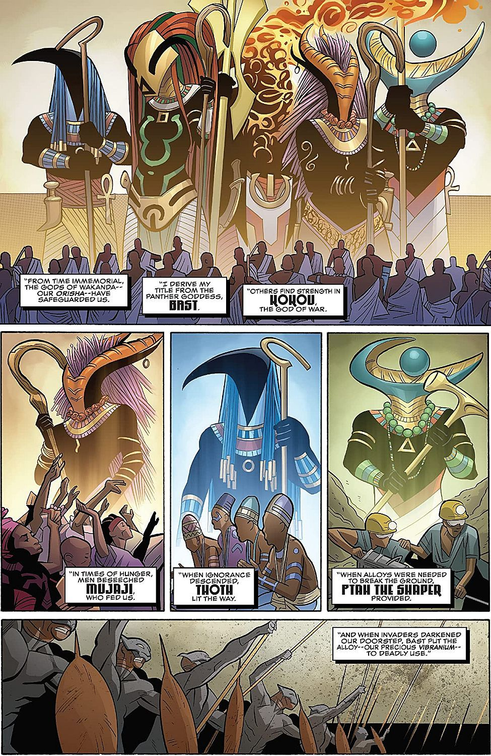 Black Panther Book 4: Avengers of the New World, Part 1 - 5