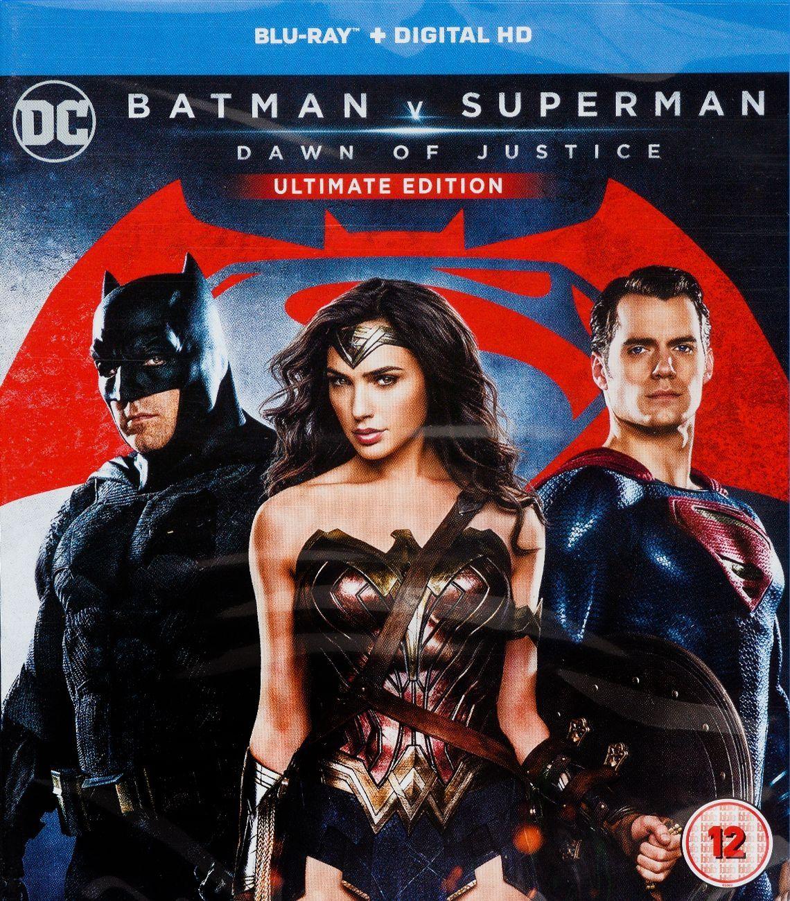 Batman V Superman: Dawn Of Justice Ultimate Edition (Blu-Ray) - 1