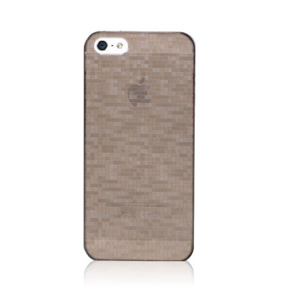 Bling My Thing Mosaic Case за iPhone 5 -  кафяв - 1