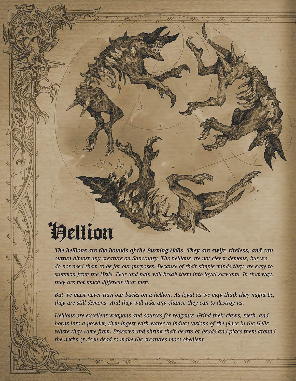 Book of Adria: A Diablo Bestiary (UK edition)-13 - 14
