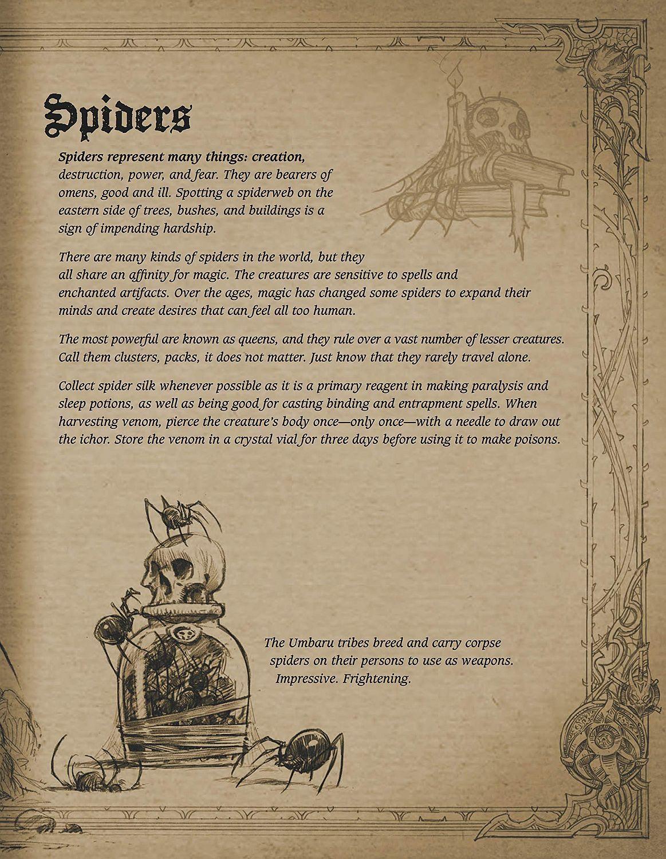 Book of Adria: A Diablo Bestiary (UK edition)-10 - 11