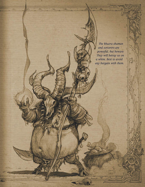 Book of Adria: A Diablo Bestiary (UK edition)-8 - 9