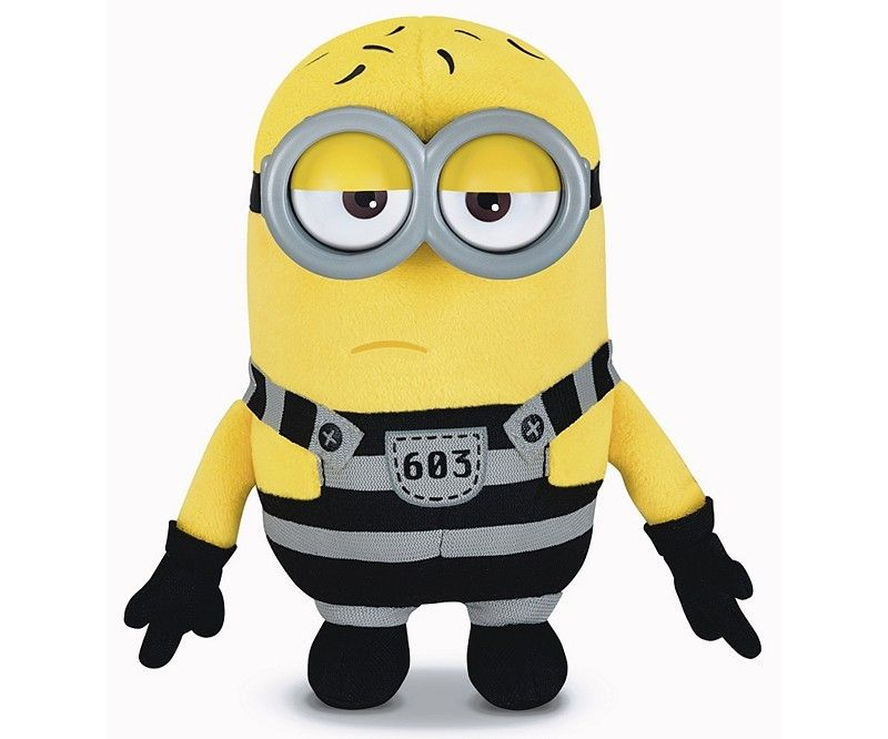 Плюшена играчка Despicable Me - Боб - 1