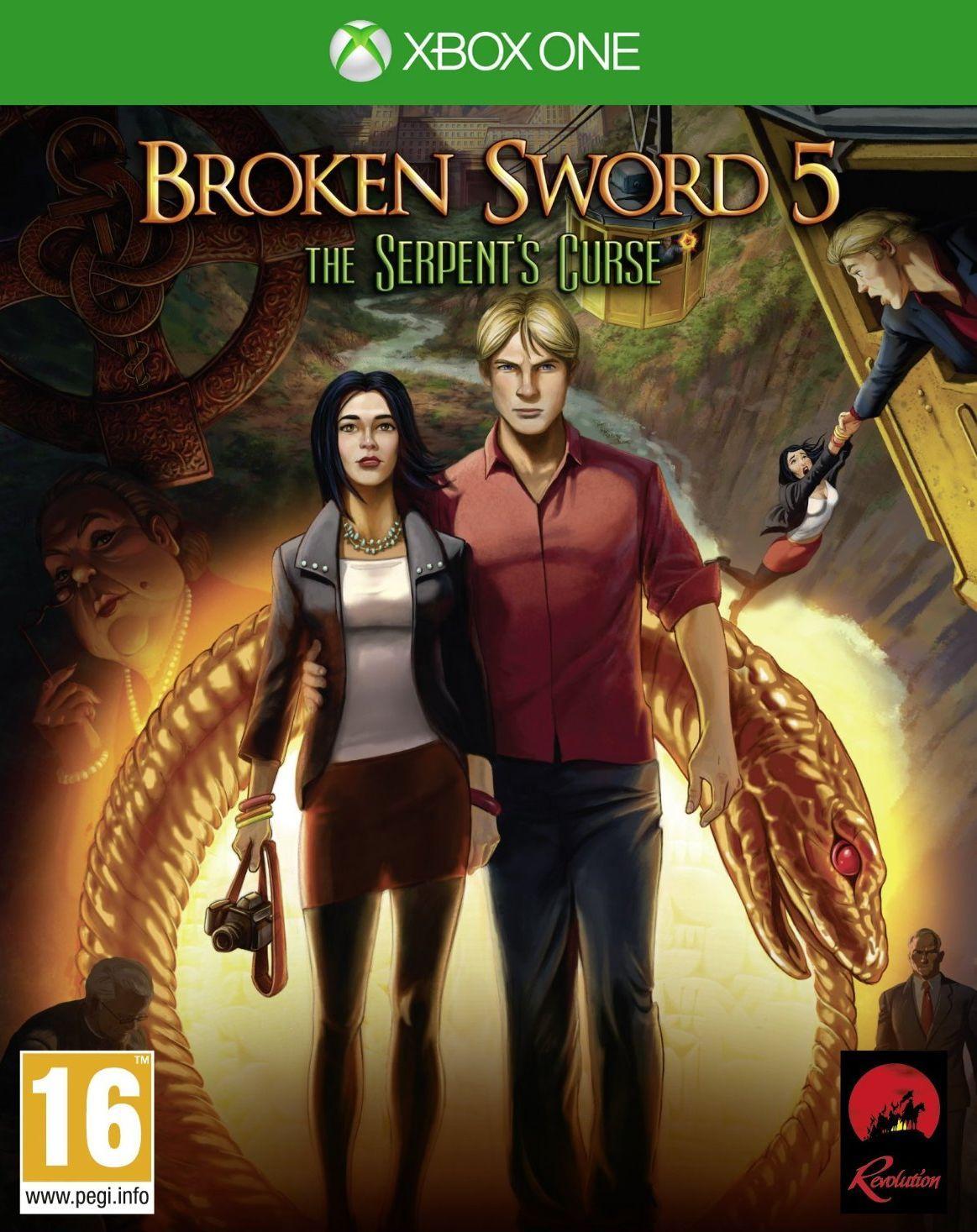 Broken Sword 5: The Serpent's Curse (Xbox One) - 1