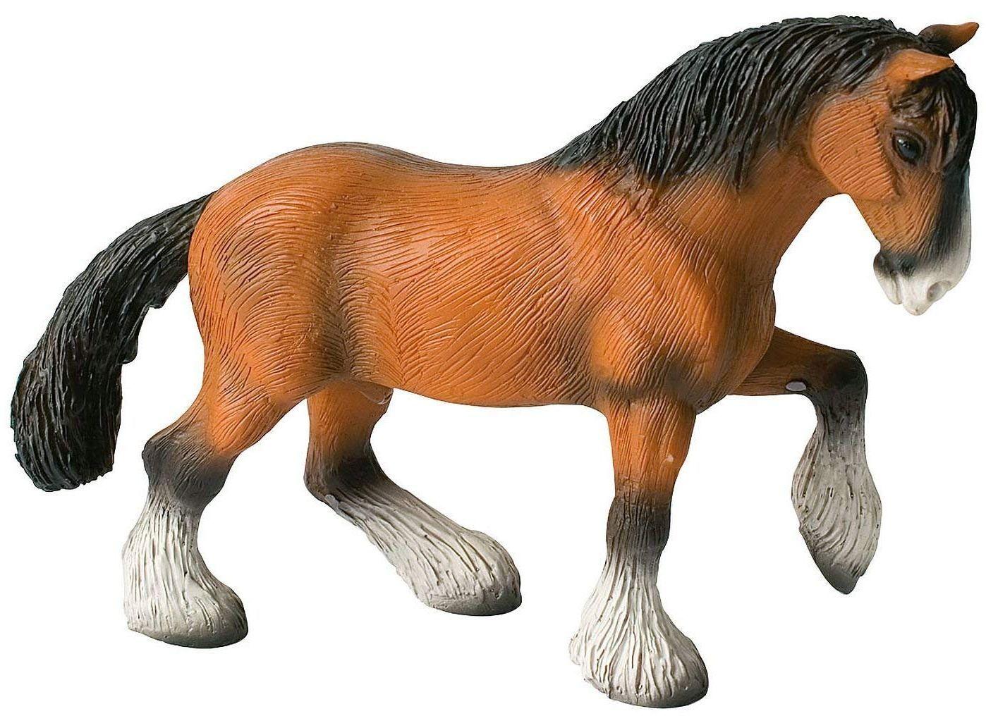 Фигурка Bullyland Animal World/Horses - Шайрски кон, кастриран - 1