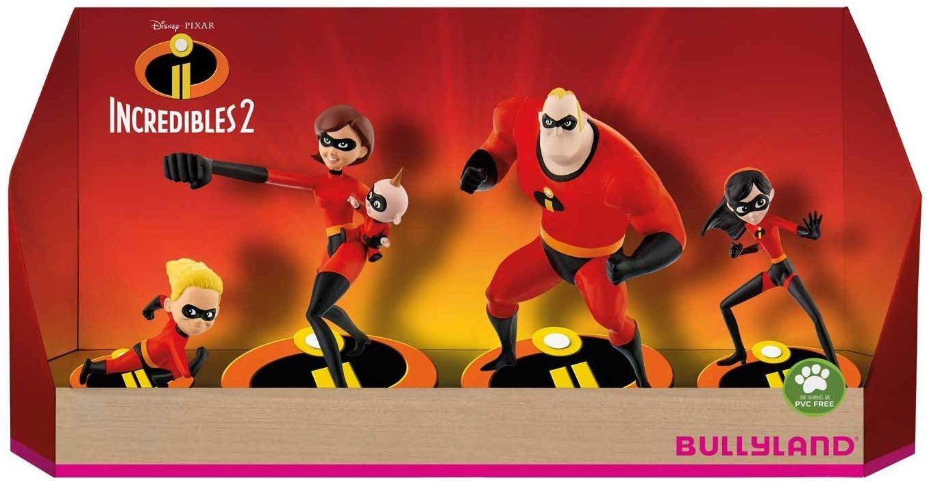 Комплект фигурки Bullyland Incredibles 2 - 5 броя - 1