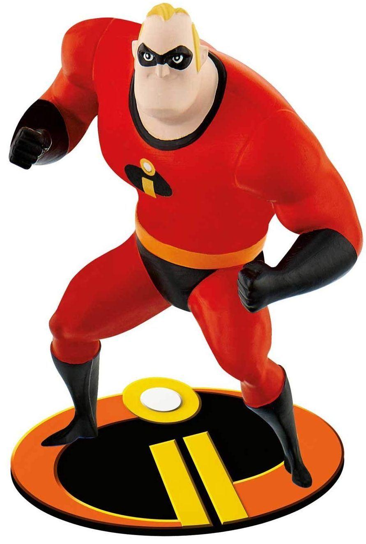 Комплект фигурки Bullyland Incredibles 2 - Господин Феноменален и Еластина - 3