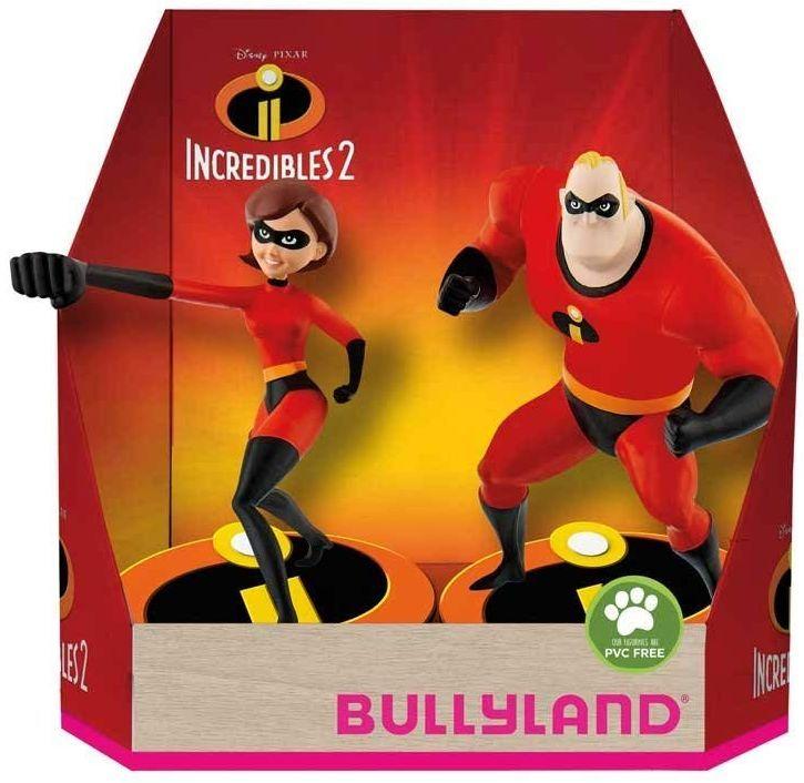Комплект фигурки Bullyland Incredibles 2 - Господин Феноменален и Еластина - 2