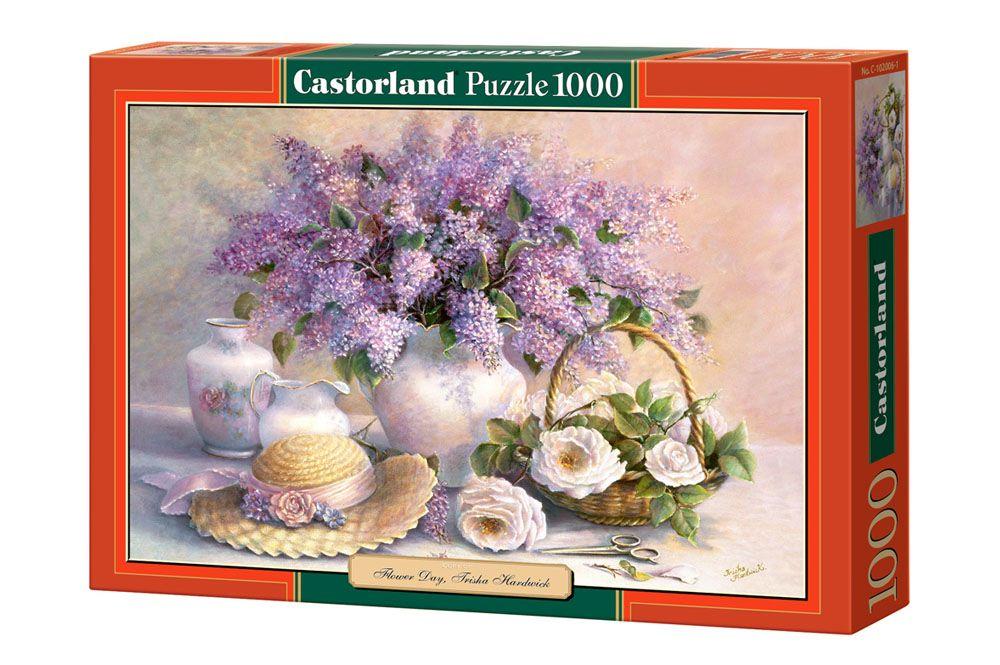 Пъзел Castorland от 1000 части - Деня на цветята, Триша Хардуик - 1