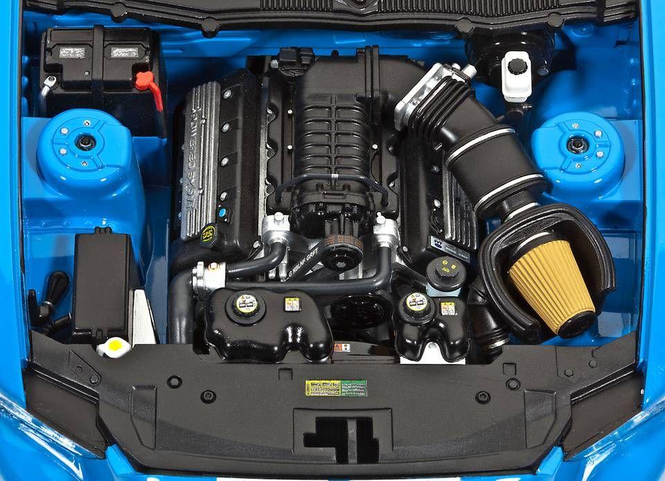 Сглобяем модел на автомобил Revell -2010 Ford Shelby GT500 (07089) - 4