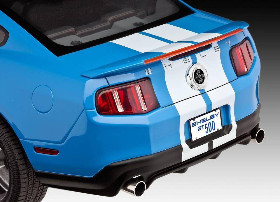 Сглобяем модел на автомобил Revell -2010 Ford Shelby GT500 (07089) - 3