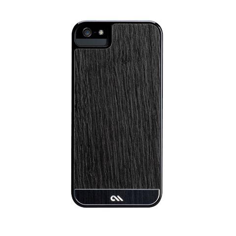 Калъф CaseMate Wood Black Ash за iPhone 5 - 7