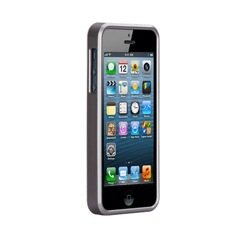 Калъф CaseMate Wood Rosewood за iPhone 5 - 5