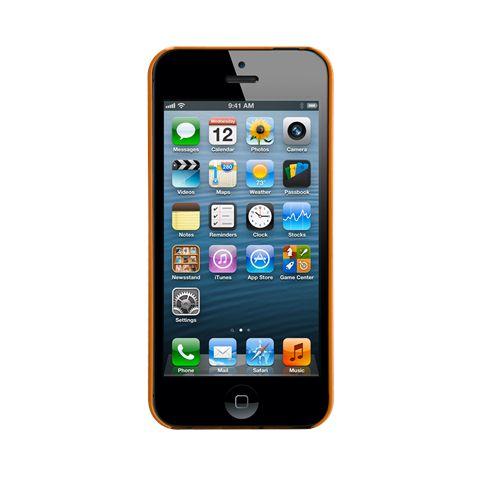 Калъф CaseMate Barely There за iPhone 5, Iphone 5s -  оранжев - 4