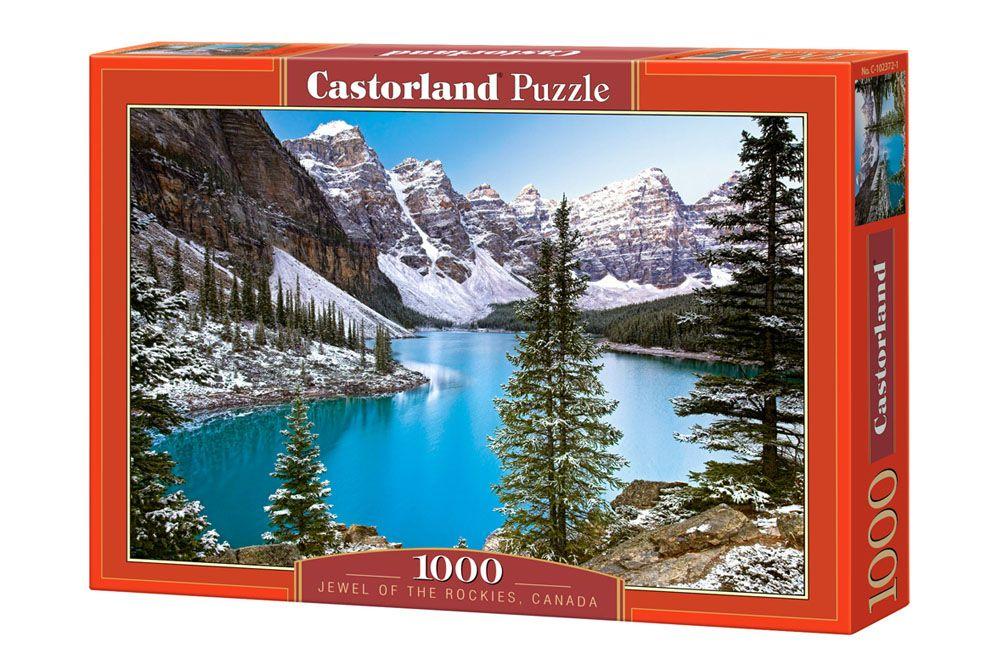 Пъзел Castorland от 1000 части - Езеро в Канада - 1