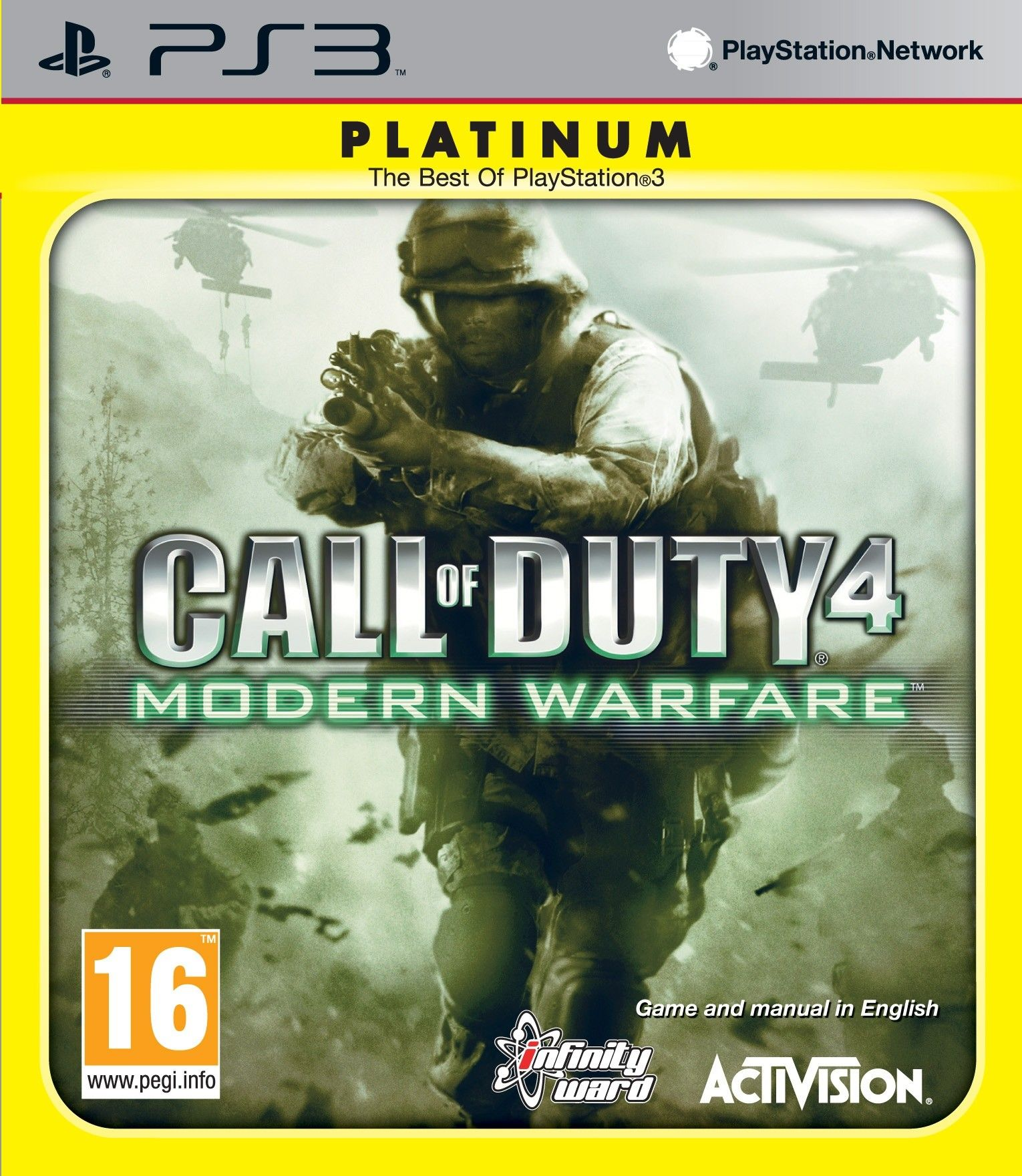 Call of Duty 4: Modern Warfare - Platinum (PS3) - 1