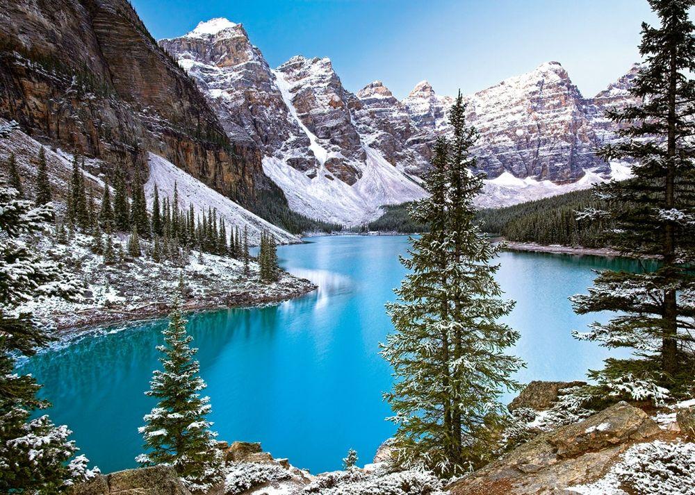 Пъзел Castorland от 1000 части - Езеро в Канада - 2