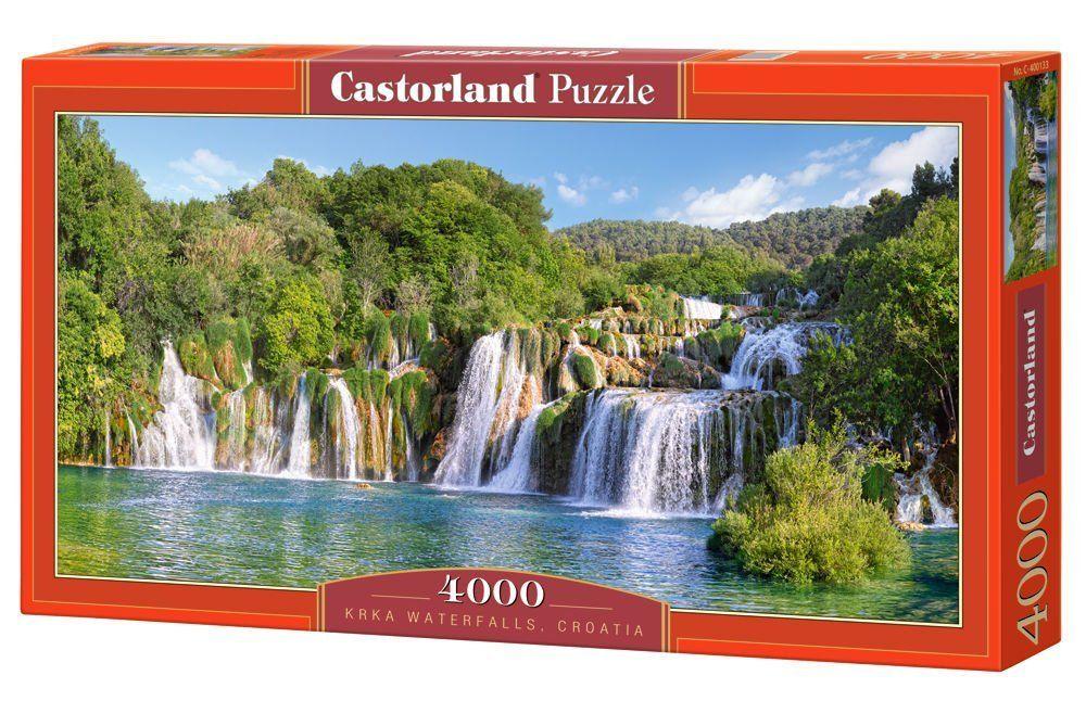 Пъзел Castorland от 4000 части - Водопадите в Крка, Хърватия - 1