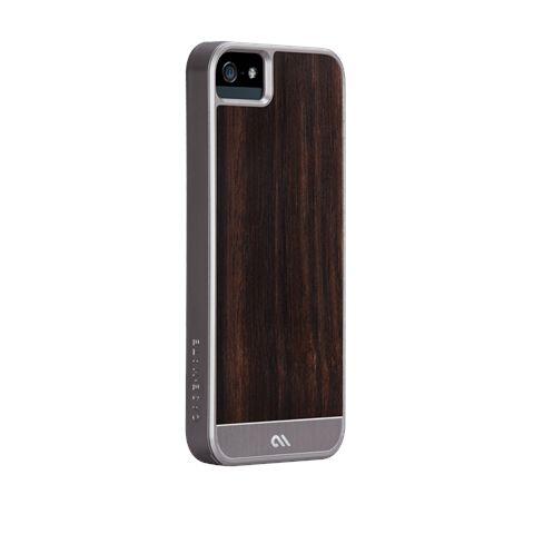 Калъф CaseMate Wood Rosewood за iPhone 5 - 1