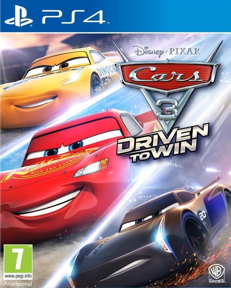 Cars 3: Driven to Win (PS4) - 1