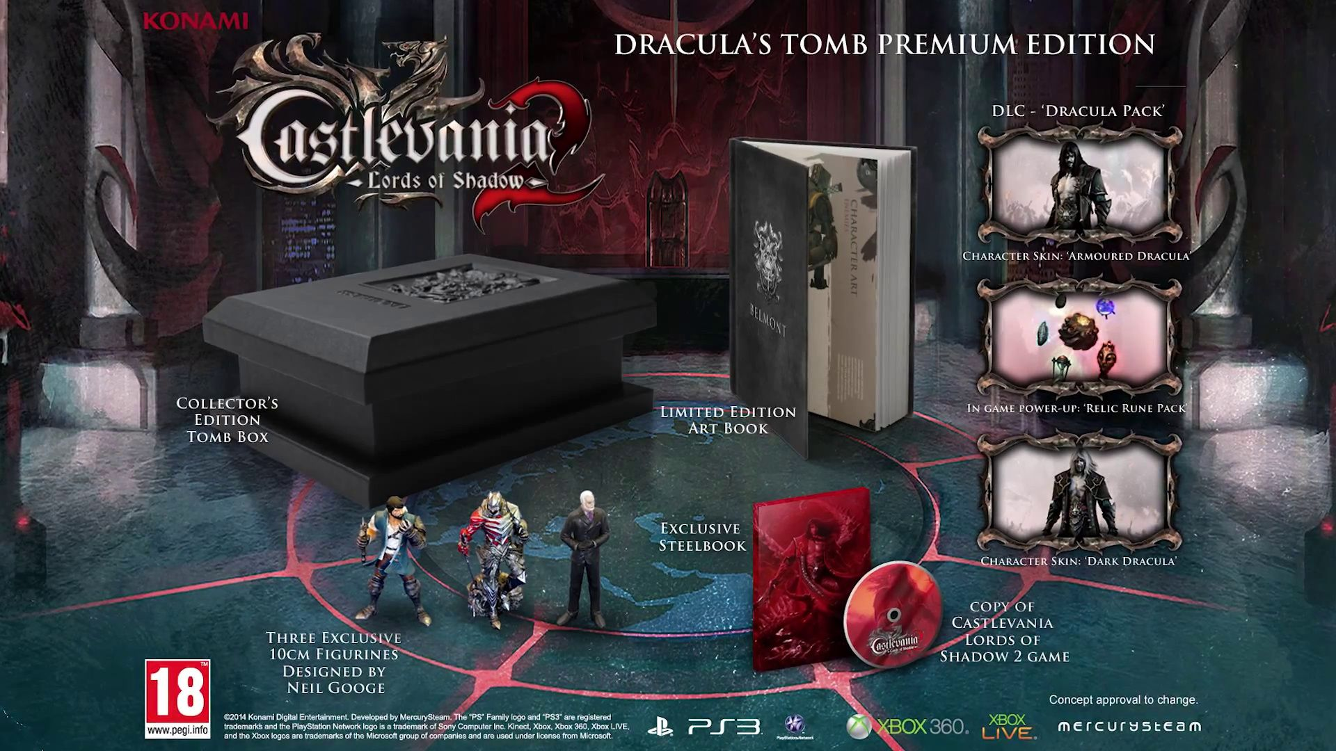 Castlevania: Lords of Shadow 2 - Dracula's Tomb Premium Edition (Xbox 360) - 6