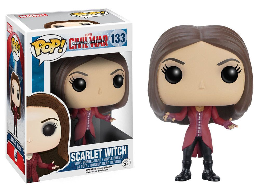 Фигура Funko Pop! Marvel: Captain America Civil War - Scarlet Witch, #133 - 2