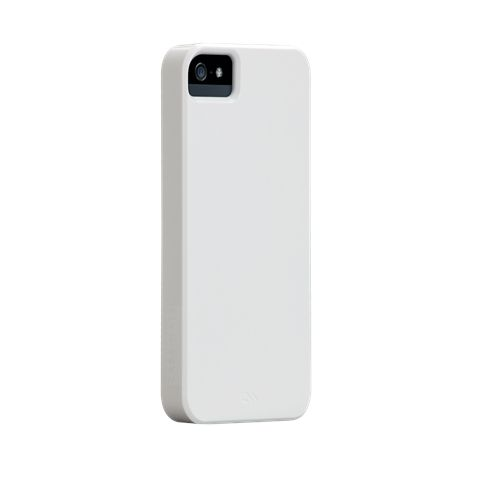 Калъф CaseMate Barely There за iPhone 5, Iphone 5s -  бял - 1