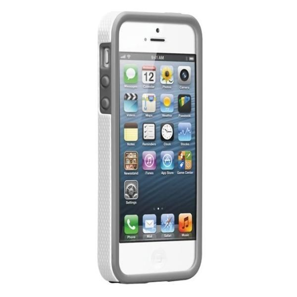 CaseMate Tough Case за iPhone 5 -  бял - 2