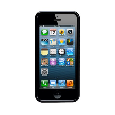 Калъф CaseMate Wood Black Ash за iPhone 5 - 5