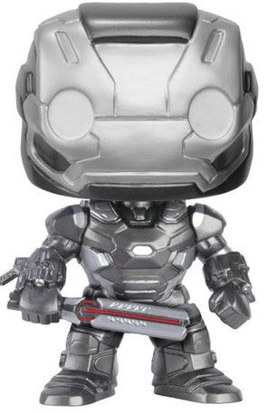 Фигура Funko Pop! Marvel: Captain America Civil War - War Machine, #128 - 1