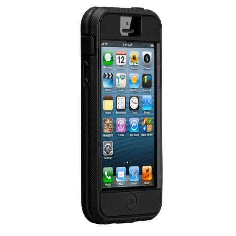 CaseMate Extreme Tough Case за iPhone 5 -  черен - 3