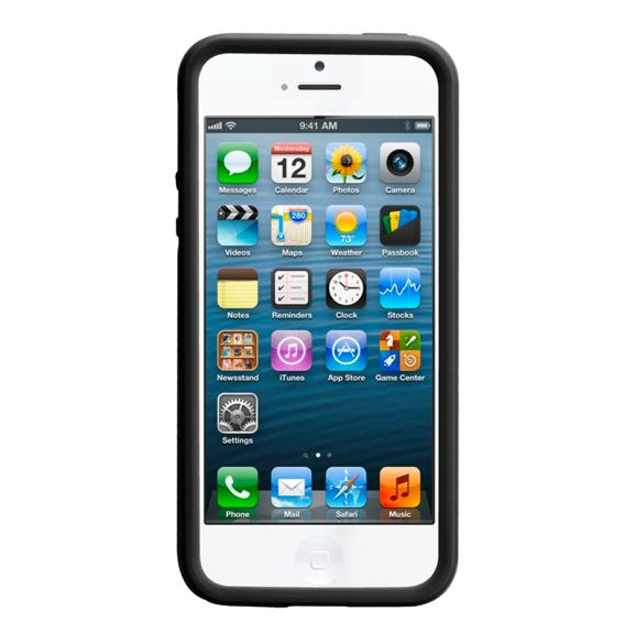 CaseMate Tough Case за iPhone 5 -  черен - 2