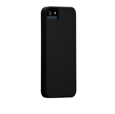 Калъф CaseMate Barely There за iPhone 5, Iphone 5s -  черен - 1