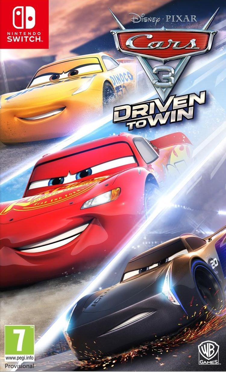 Cars 3: Driven to Win (Nintendo Switch) - 1