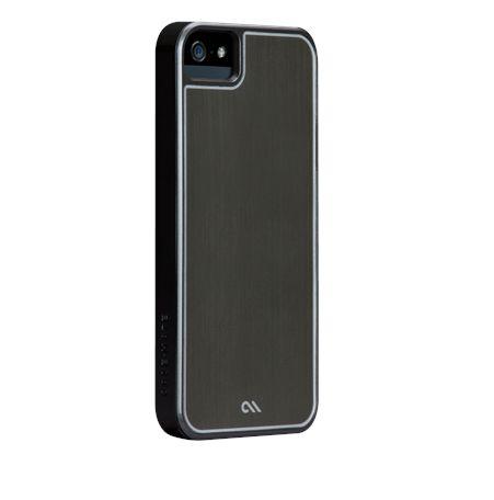 CaseMate Brushed Aluminium за iPhone 5 -  сив - 1