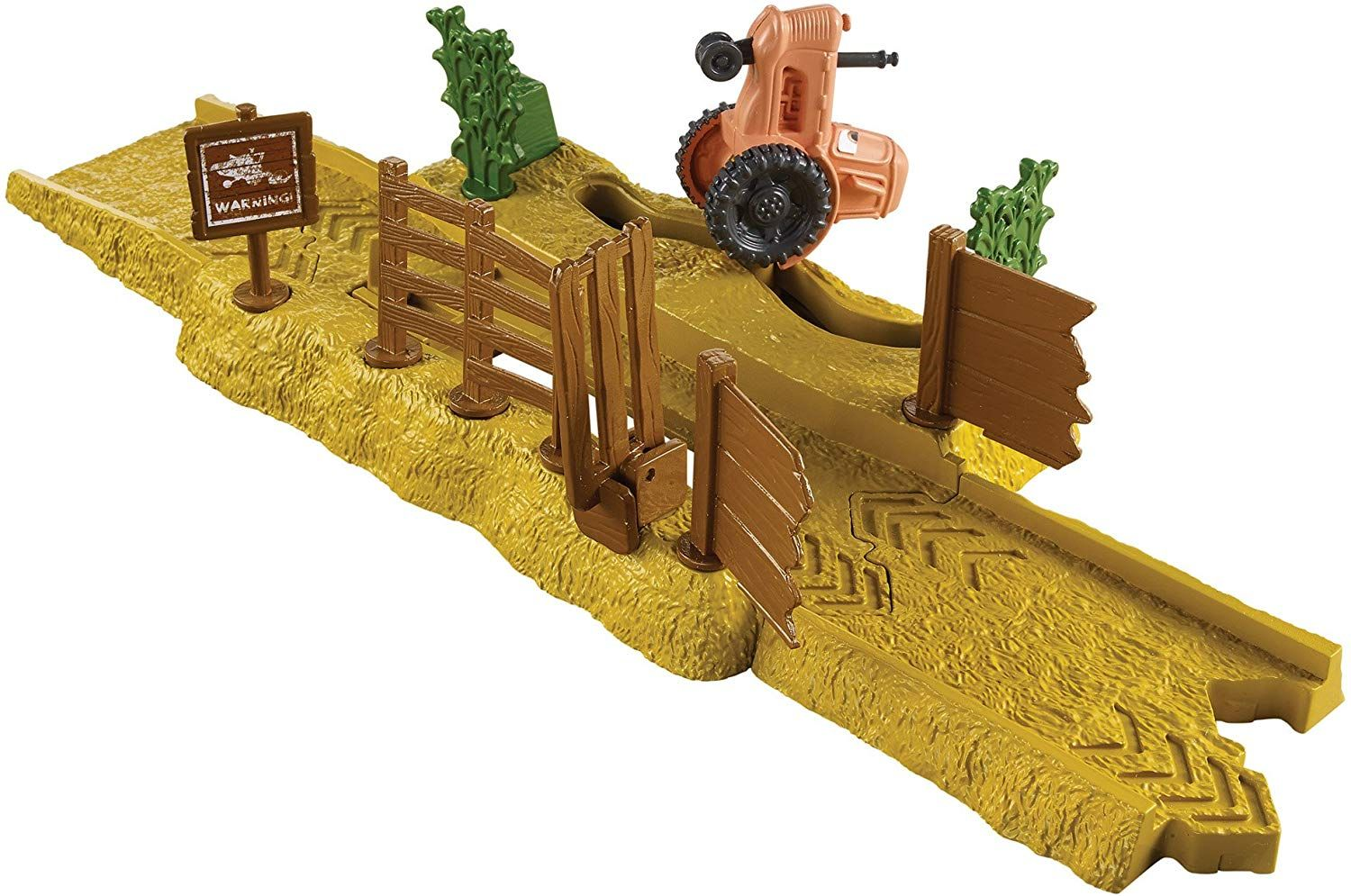 Игрален комплект Mattel Cars Story Sets - Tractor Tippin, Deluxe - 3