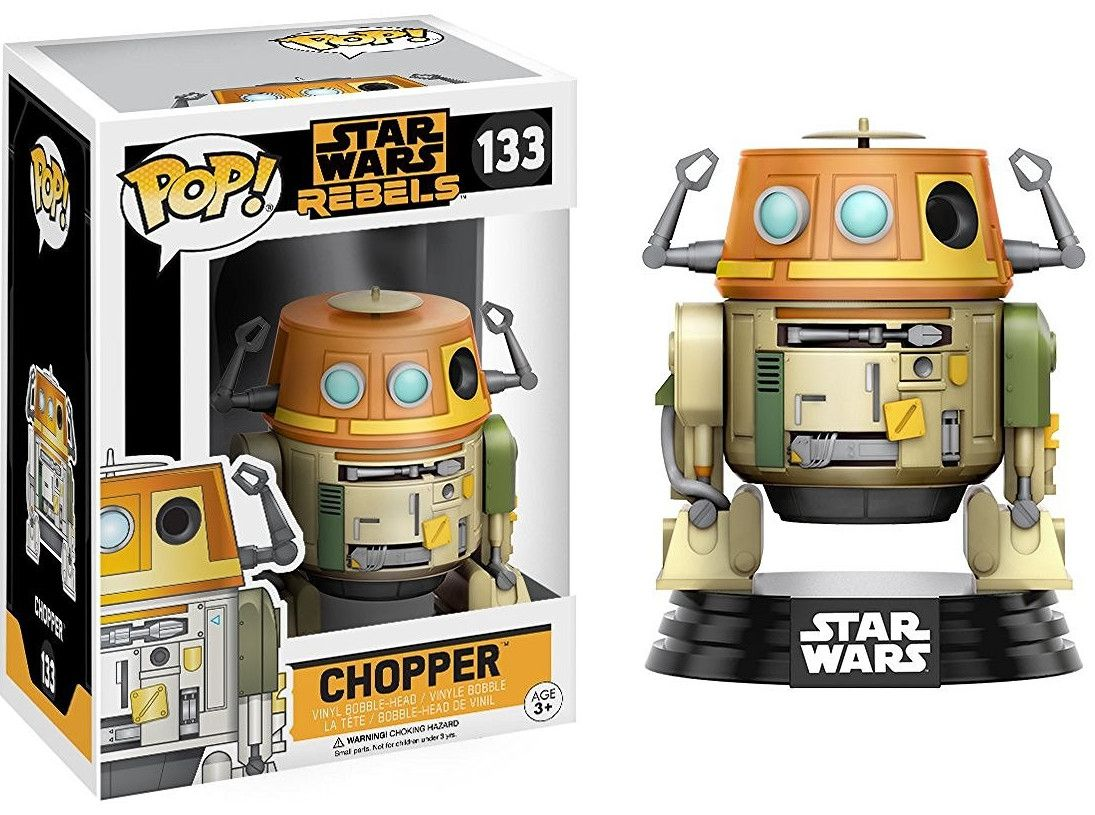 Фигура Funko Pop! Star Wars: Rebels - Chopper, #133 - 2