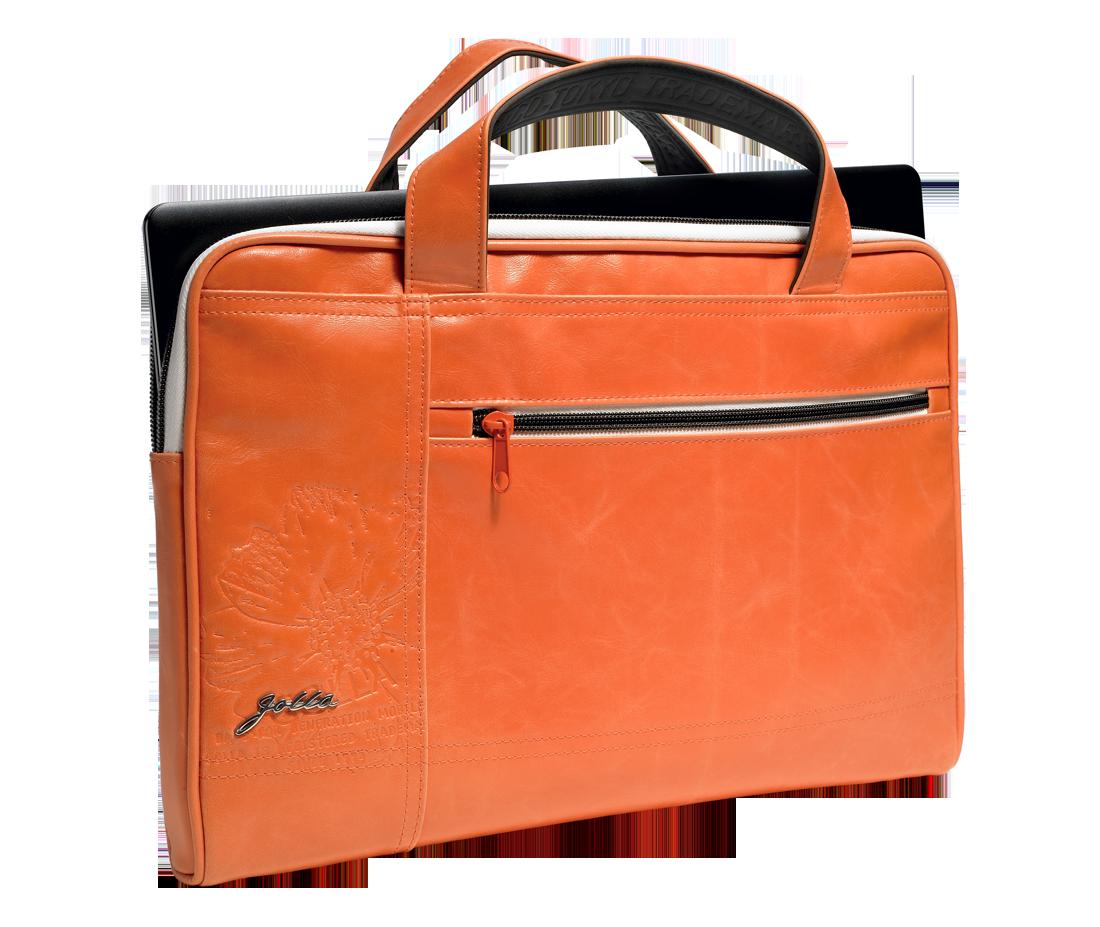 """Чанта за лаптоп Golla Damani 14"""" - оранжева - 3"""