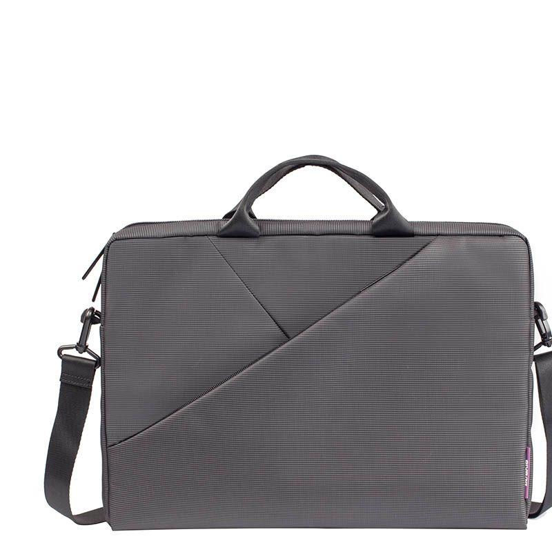 """Чанта за лаптоп Rivacase 8730 15.6"""" - сива - 7"""