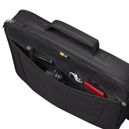 """Чанта за лаптоп Case Logic VNCI-215 15.6"""" - черна - 2"""