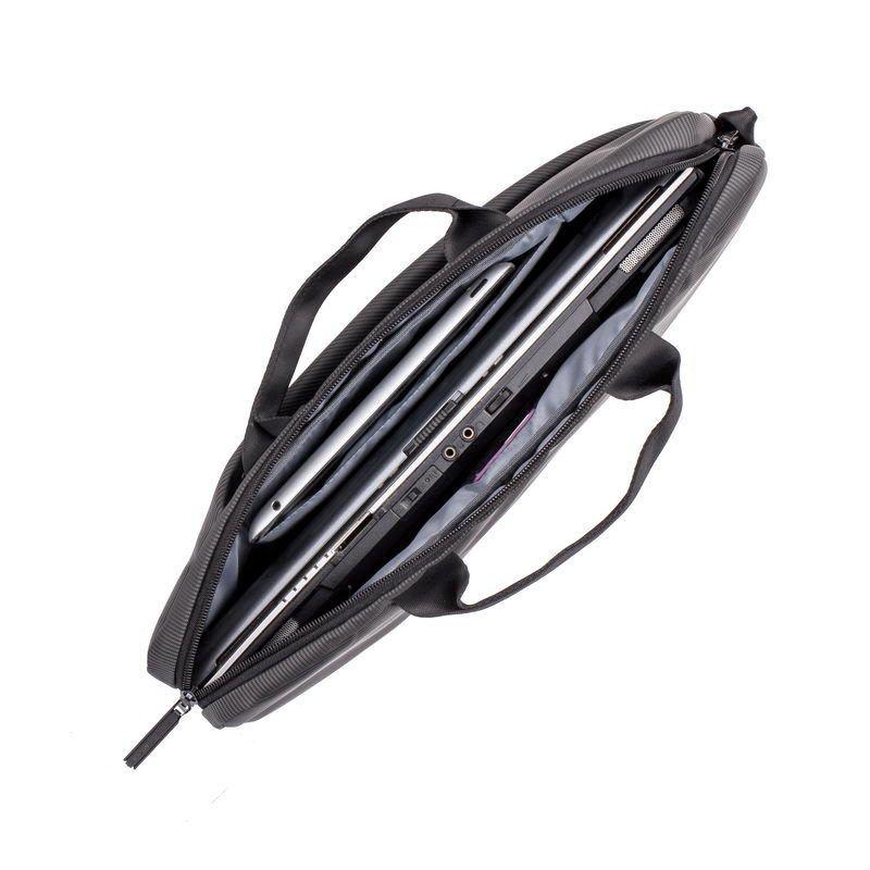 """Чанта за лаптоп Rivacase 8730 15.6"""" - сива - 3"""